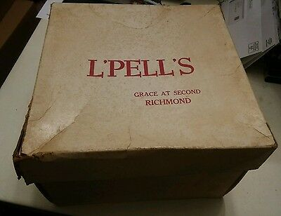 009 Vintage L'pell's  Hat Box Only Richmond Virginia 's Grace at Second