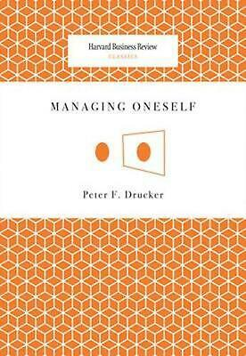 Managing Oneself by Peter F. Drucker (English) Paperback Book Free Shipping!