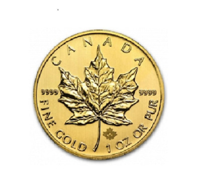 5$ Gold Kanada / Canada Maple Leaf 2013 1/10 OZ