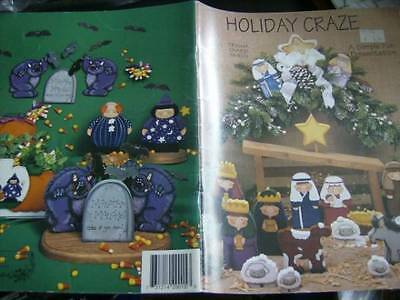 Holiday Craze Painting Book-Smith-Nativity/Valentine's Day/Thanksgiving/Easter/H