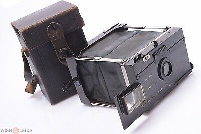 Gaumont Block Notes 6.5X9Cm Camera Zeiss Krauss Tessar Lens