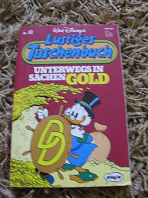 Lustiges Taschenbuch 43 German Uncle Scrooge Disney Tpb Digest Sized Very Rare