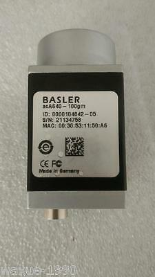 1pcs Used BASLER acA640-100gm industrial CCD cameras tested OK