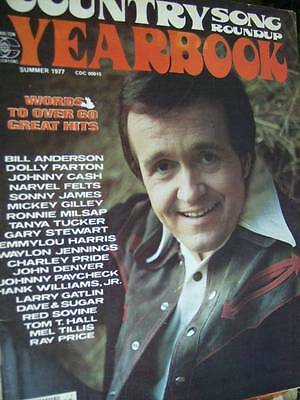 Country Song Roundup Yearbook Magazine Summer 1977, Jennings/Parton/Felts/James/