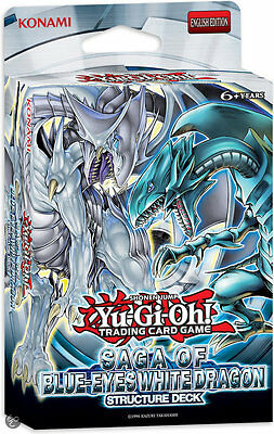 SEALED Yugioh Structure Deck: Saga of Blue Eyes White Dragon Authentic Konami