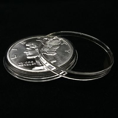10 Airtite Holders Coin Capsules for 1 oz Silver Rounds, Direct Fit 39mm