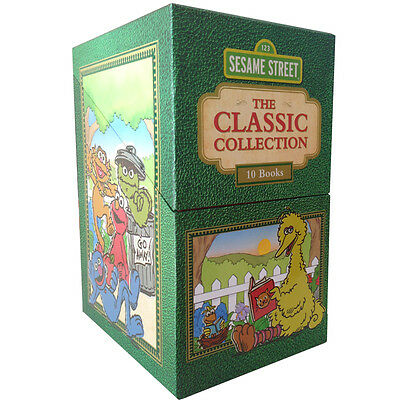 Sesame Street The Classic Collection 10 Books Box Set RRP $69.99 each Great Gift