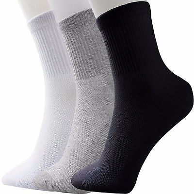 2 pairs Men's 100% Brand New Socks Thermal Casual Soft Cotton Sport Sock for man