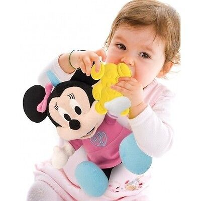 Minnie Mouse Soft Toy Plush Girls Baby Kids Cuddle Play And Learn New Disney