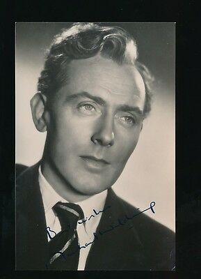 Film Theatre MICAEL WILDING personally SIGNED c1940/50s photograph