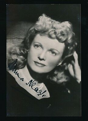 Film Theatre ANNA NEAGLE personally SIGNED c1930/40s photo