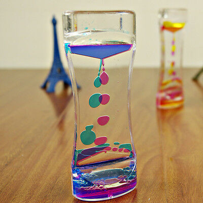 Floating Color Mix Illusion Liquid Motion Visual Slim Oil Glass Home Decoration