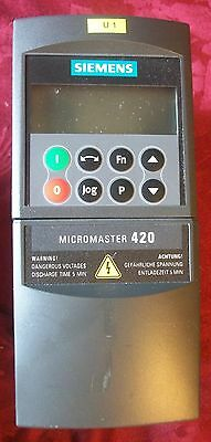 Siemens Micromaster 420 Frequency Convertor, 6SE6420-2AB15-5AA1