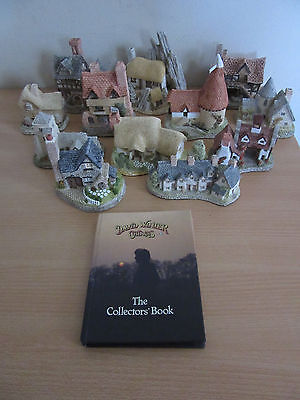 12 David Winter Cottages + Collector's Book 1980-93
