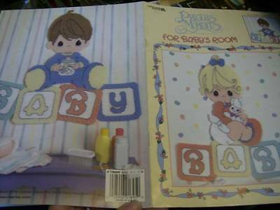 Precious Moments For Baby's Room & Magnets Plastic Canvas Craft Leaflets-Chi