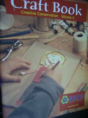 Craft Book #2 Creative Conservation -RRFB Nova Scotia-Uses Foam/Cardboard/Old Cl