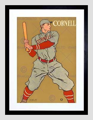 18x24 1908 Cornell College Baseball Vintage Style Sports Poster