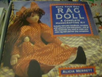 Make Your Own Rag Doll Handcraft Sewing Craft Kit- Alicia Merrett