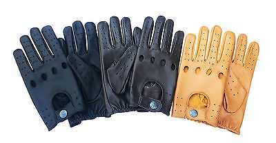 Top Quality Real Soft Leather Mens Driving Gloves -D-513