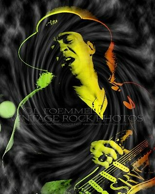 Stevie Ray Vaughan Poster Photo 16x20 inch Ltd Ed Custom Design Art Print  LFE15