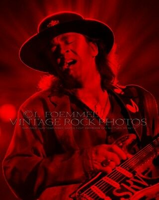 Stevie Ray Vaughan Poster Photo 16x20 inch Ltd Ed Custom Design Art Print   LFE2