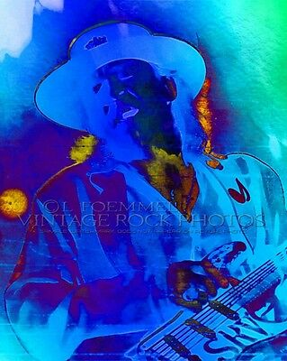 Stevie Ray Vaughan Poster Photo 16x20 inch Ltd Ed Custom Design Art Print   LFE5