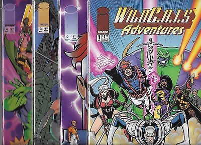 Wildcats Adventures Lot Of 4 - #1 #2 #3 #4 (Nm-) Image Comics