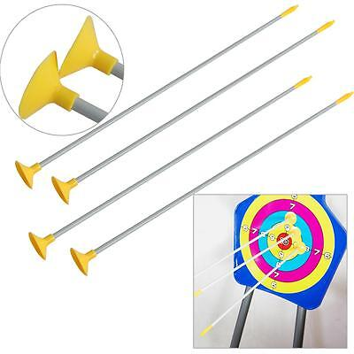 6x Safety Sucker Arrows For Child Archery Recurve Bow Crossbow Garden Games Toy