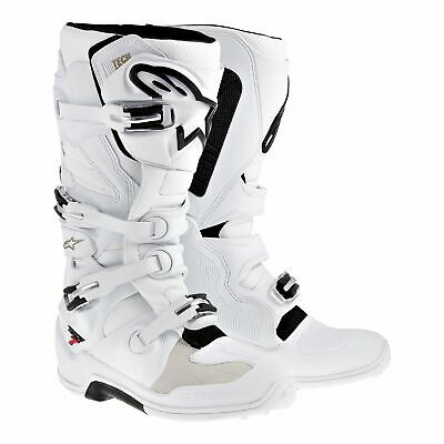 NEW Alpinestars Tech 7 Boots White from Moto Heaven