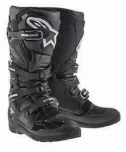 Alpinestars Tech 7 Enduro Sole Boots Black in Black