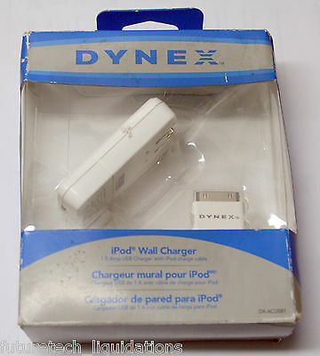 Dynex Ipod Wall Charger (White) - Dx-Acusb1