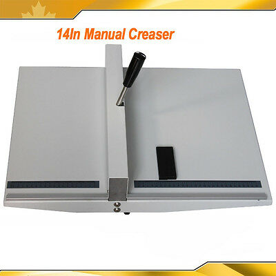 14In Creaser Machine Scorer Creaser Desk Top Manual Style Brand New