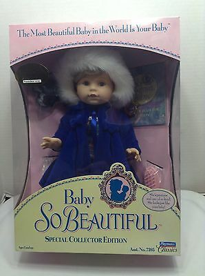 Baby So Beautiful Firsts Frosty Snow Frolic Playmates New In Box Special Edition