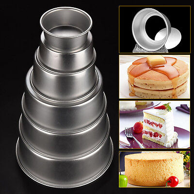 Aluminum Nonstick Round Cake Pan Tray Baking Mould Tins Bakeware Kitchen Tools