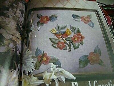 Needlework UK March 1993 Magazine- Crocus Cushion, Torchon Lace, Garden Sampler,