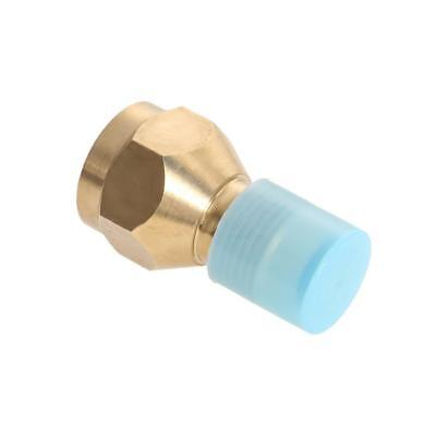 1pc Brass Propane Refill Adapter Heater for Stove Small Tank Cylinder Gas Bottle