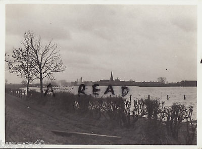 WW2 Panoramic view across the Rhine at Cleve ?? Germany 1945