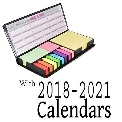 Sticky Post Memo Pad Desk Organiser Sticky Memo Notes Pad In Case 2017 Calender