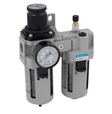 Filter/Regulator + Lubricator 1/2bspp 3000L/min