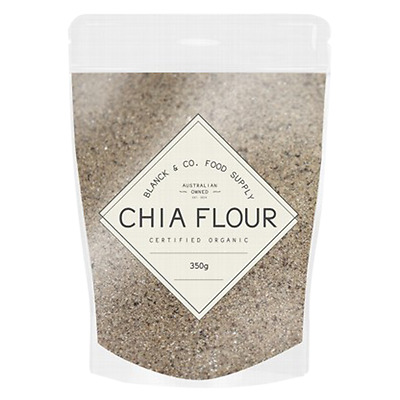 Chia Flour 350G Blanck And Co Food Supply