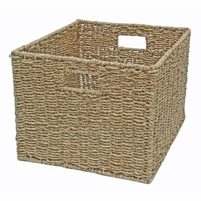 Seagrass Wicker Storage Basket - Bedroom, Kitchen, Office, Display