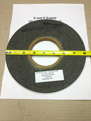 "Brite Star, 8"" x 3/8"" x 3"", 8S, FINE, DEBURRING WHEEL MSC #81244022"