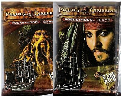 Wizkids Pirates : Pirates Of The Caribbean Booster Pack X 18