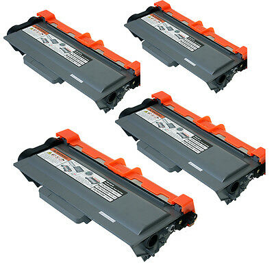 4PK TN750 High Yield Toner Cartridge For Brother MFC-8950DW 8170DW 8150DN