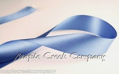"""5yd of Ivory Champagne 3//8/"""" Double Face Satin Ribbon 3//8/"""" x 5 yards neatly wound"""