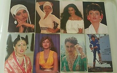 Bollywood Post Card Postcard Smita Rekha Jekki Shroff Sarika Rina Roy New!
