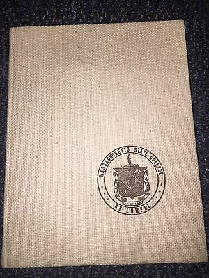 1965 Massachusetts State College University At Lowell Yearbook Annual Ref. 5-429