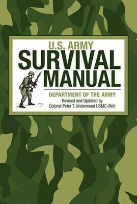 U.S. Army Survival Manual by Department of the Army Paperback Book (English)