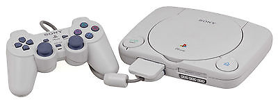 PS1 PSONE Sony Playstation 1 Slim Console - Tested & Working