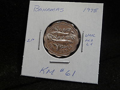 1975 Bahama Island Coin Struck By The Franklin Mint Cu Specimen Km67 Coins